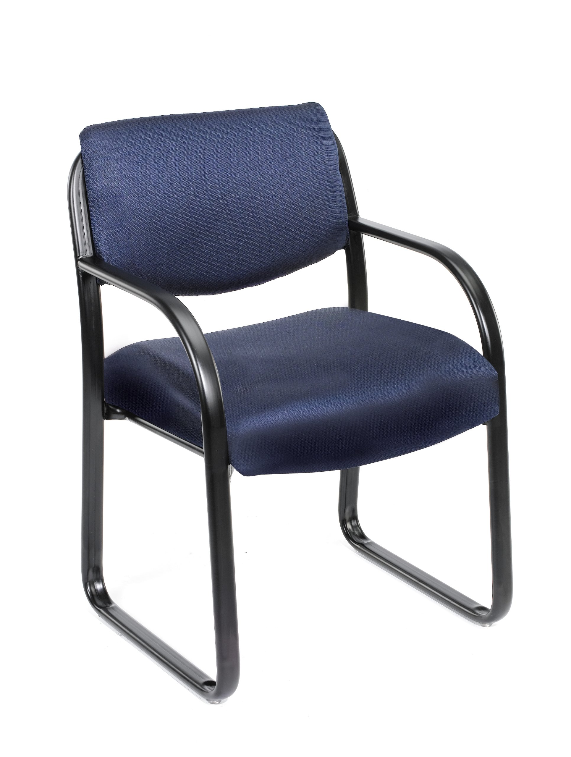 Boss Office Products B9521-BE Fabric Guest Chair in Blue
