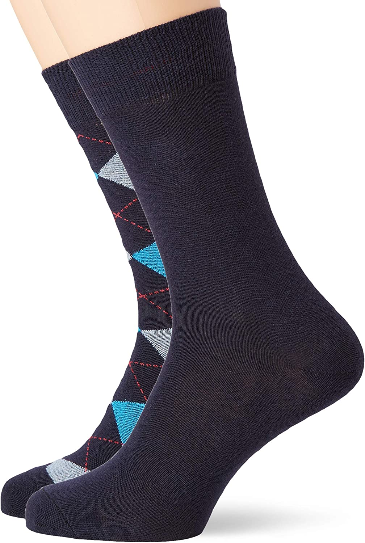 s.Oliver Socks Calcetines para Hombre Pack de 6