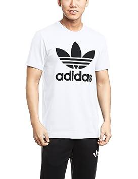 Adidas Originals Camiseta de Manga Corta para Hombre, diseño del trébol de la Marca en la Parte Delantera: Amazon.es: Deportes y aire libre