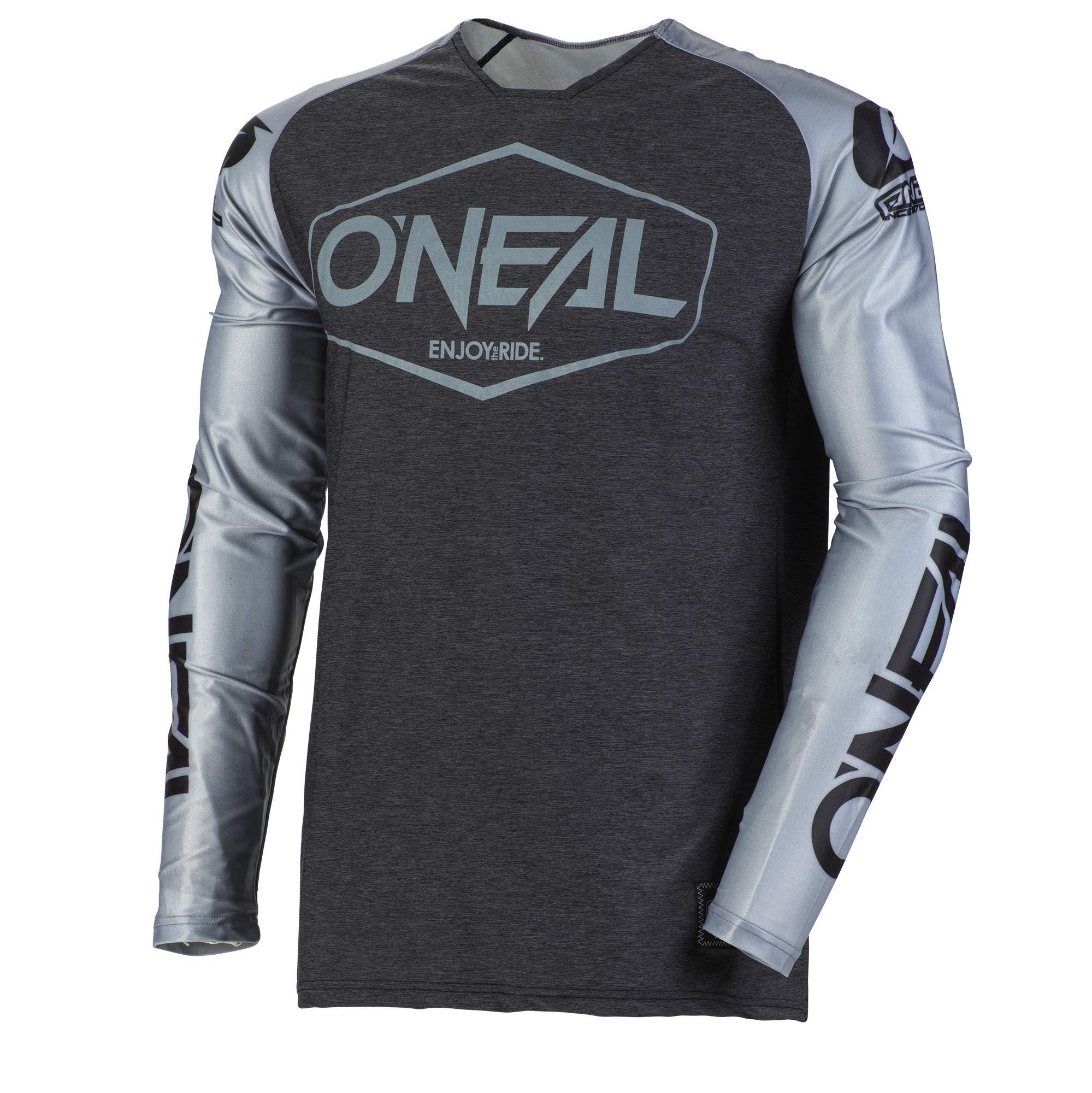 O'Neal Mayhem Hexx Adult Jersey (Gray/Black, XL) by O'Neal