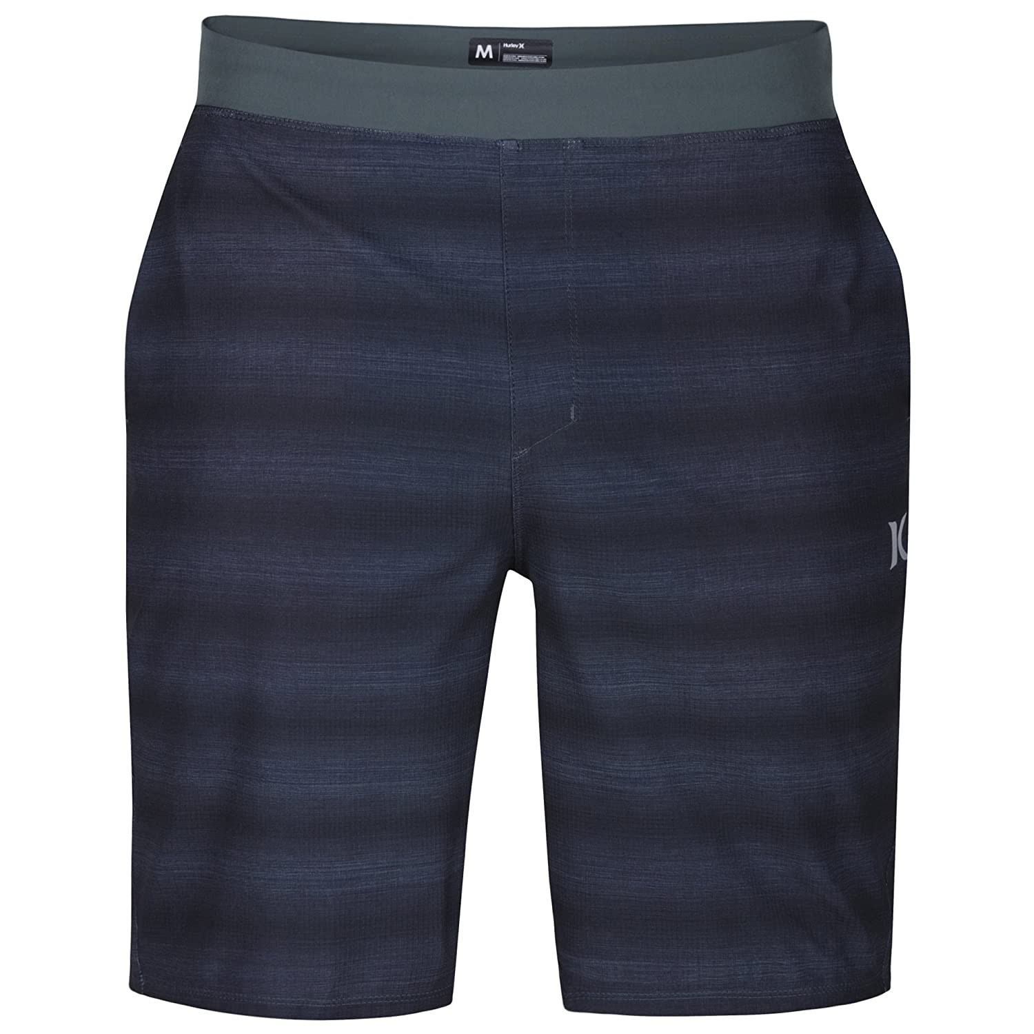 Hurley New Men's Alpha Trainer Solid Short Polyester Elastane Black