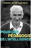 Pour une pédagogie de l'intelligence