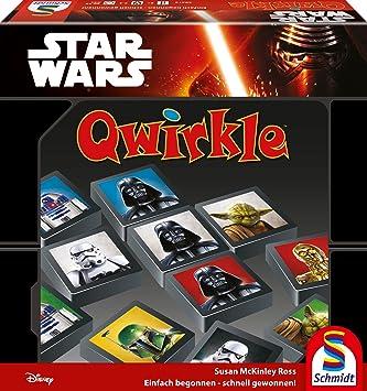 Schmidt Spiele Star Wars Qwirkle Juego de táctica - Juego de ...