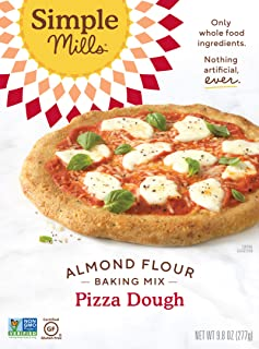 product image for Simple Mills Almond Flour, Cauliflower Pizza Dough Mix, Gluten Free, Made with whole foods, (Packaging May Vary)