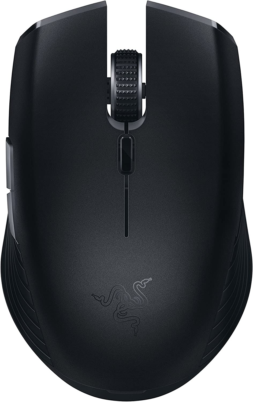 Razer Atheris - Ambidextrous Bluetooth Wireless Portable Gaming-Grade Mouse - 7,200 DPI Optical Sensor (Renewed)