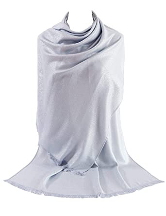 0e3b554191c0e Soft Solid Pashmina Wrap Shawl Stole Ladies Scarf for Weddings by DiaryLook