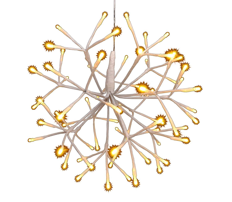 LED Hängeleuchte mit 64 warm-weißen LEDs