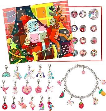 VAMEI Calendario dell'avvento Bambini Regali di Natale per ragazze