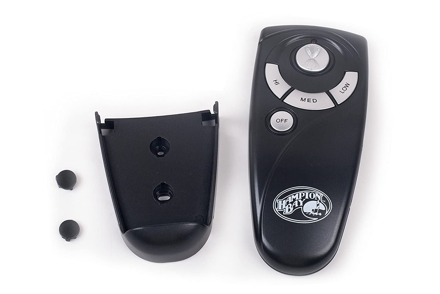 Up Light, Down Light, High, Med, Low, Off Keys With Up Light Key Black 1-Year Warranty Hampton Bay UC7083T Ceiling Fan Remote Control Replacement by Trusted Anderic Brand