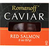 Romanoff Caviar Red Salmon, 2 Ounce Jar