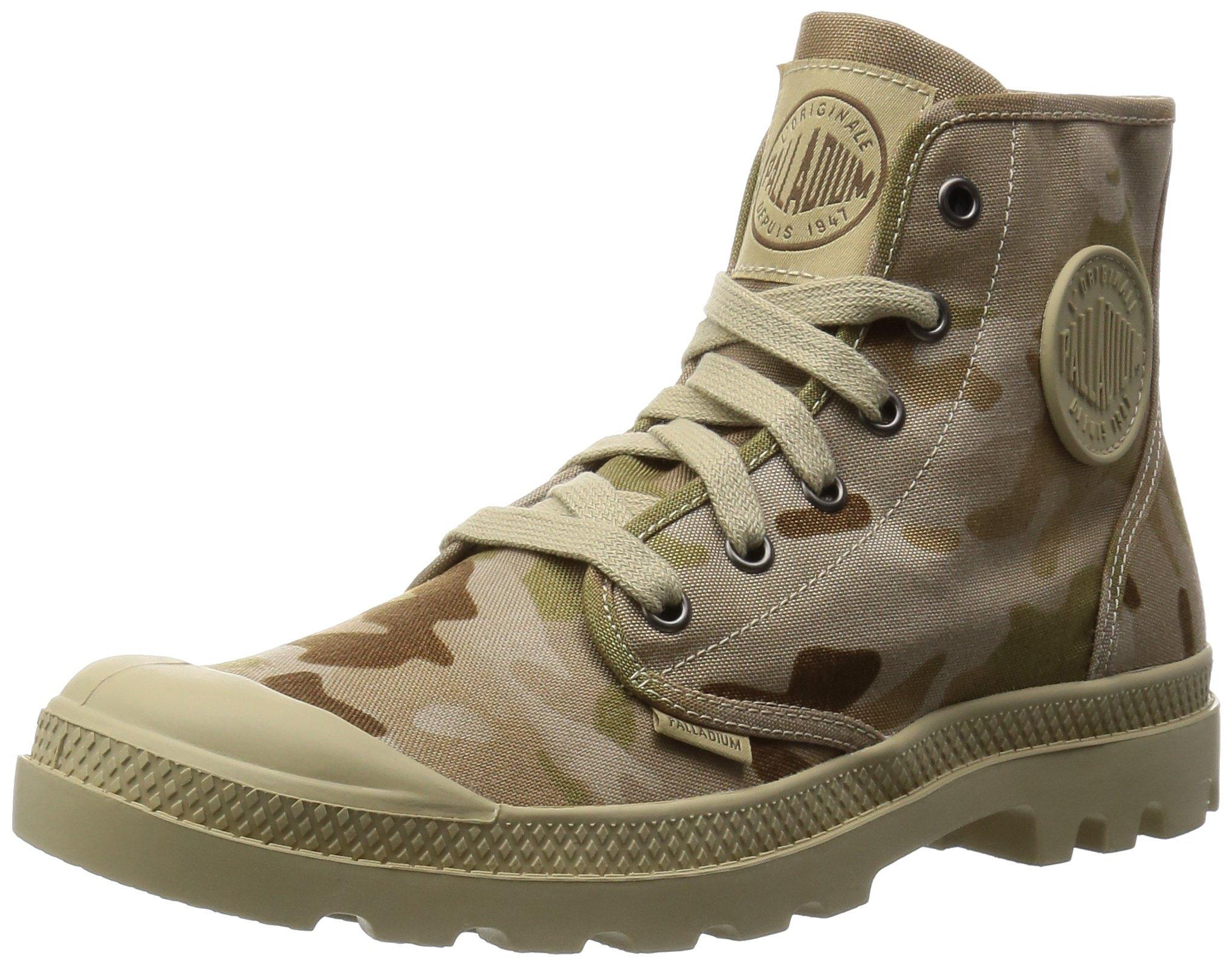 sports shoes 95047 71c5f Galleon - Palladium Men s Pampa Hi Multicam, Arid Camo 7 M US