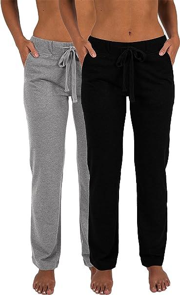 Amazon.com: Sexy Basics - Pantalones largos de yoga para ...