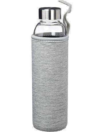 ORYX Botella, 550 ml con Funda, Gris, 24x8x7 cm
