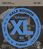 D'Addario 达达里奥 XL Half Round EHR350 12-52 电吉他弦