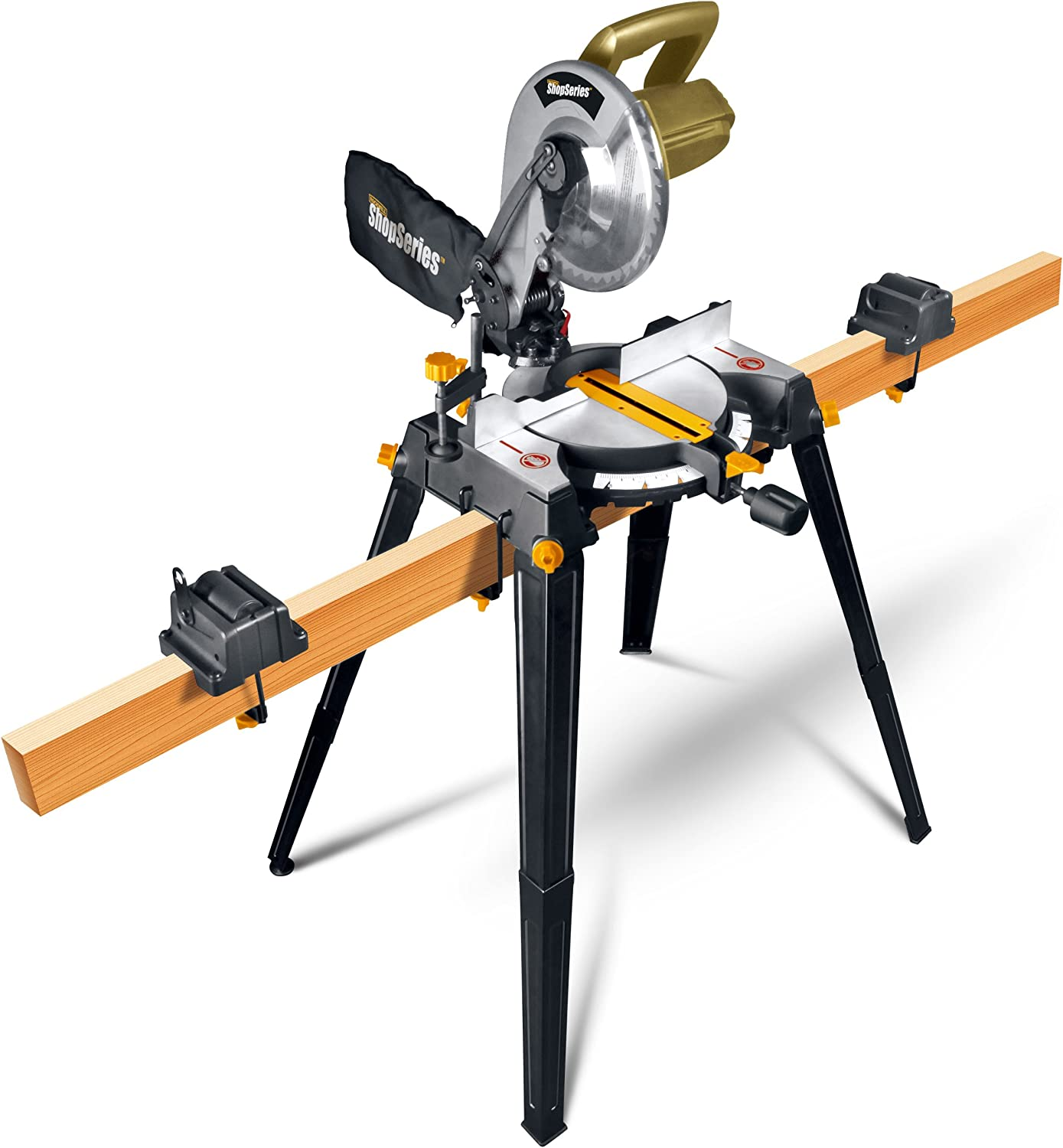 """ShopSeries RK7136.1 14-Amp 10"""" Miter Saw with Stand"""