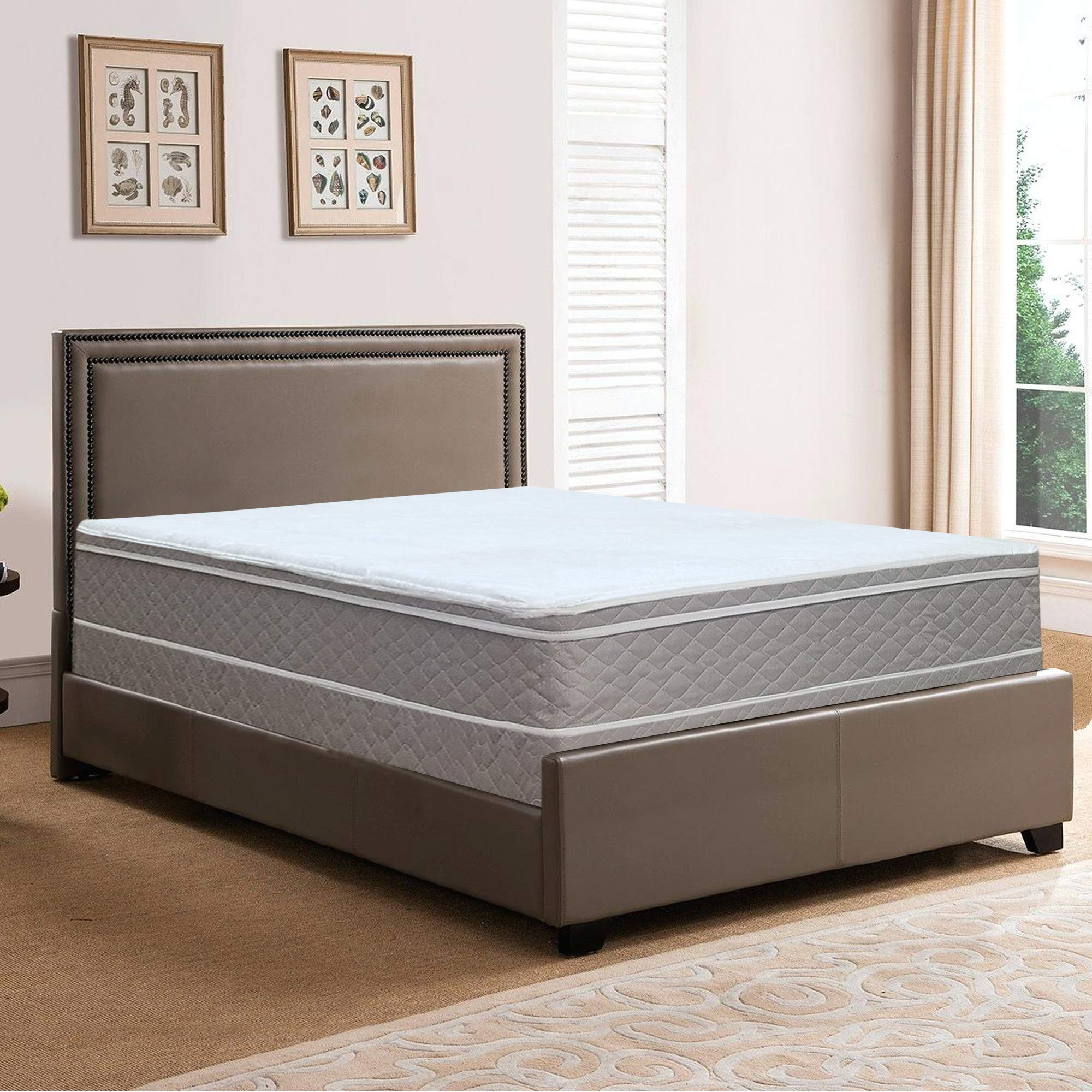 Spring Solution Plush Mattress, Twin XL Size by Spring Solution