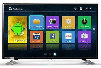b74d58dee96 Noble Skiodo 122 cm (48 Inches) Full HD LED Smart TV 50SM48P01 (Black