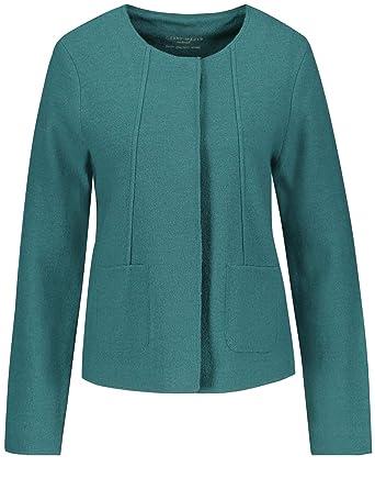 Gerry Weber Damen Jacke Strick Jacke aus gekochter Wolle  Amazon.de   Bekleidung d2db62fcbd
