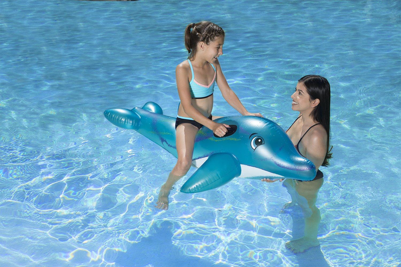 PoolMaster 81760 delfín Jumbo Rider: Amazon.es: Jardín