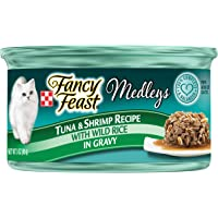 Purina Fancy Feast Medleys Tuna & Shrimp recipe Wet Cat Food, 85g
