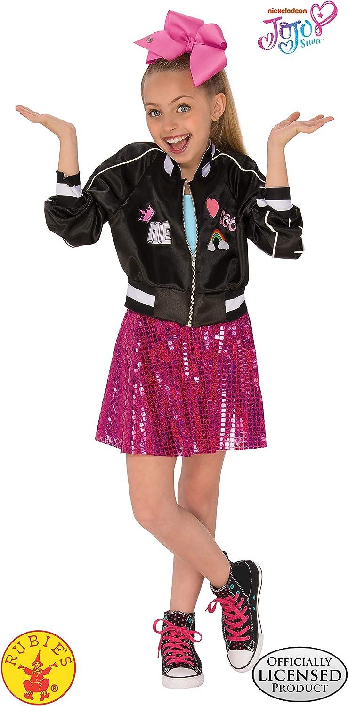 JoJo Siwa Bomber Jacket with Skirt and Bow