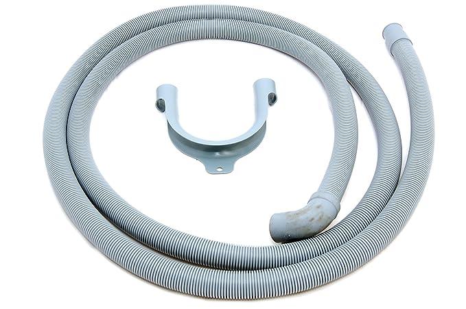 Zanussi AEG 2,5 m lavadora lavavajillas manguera de drenaje 90ª 90 ...