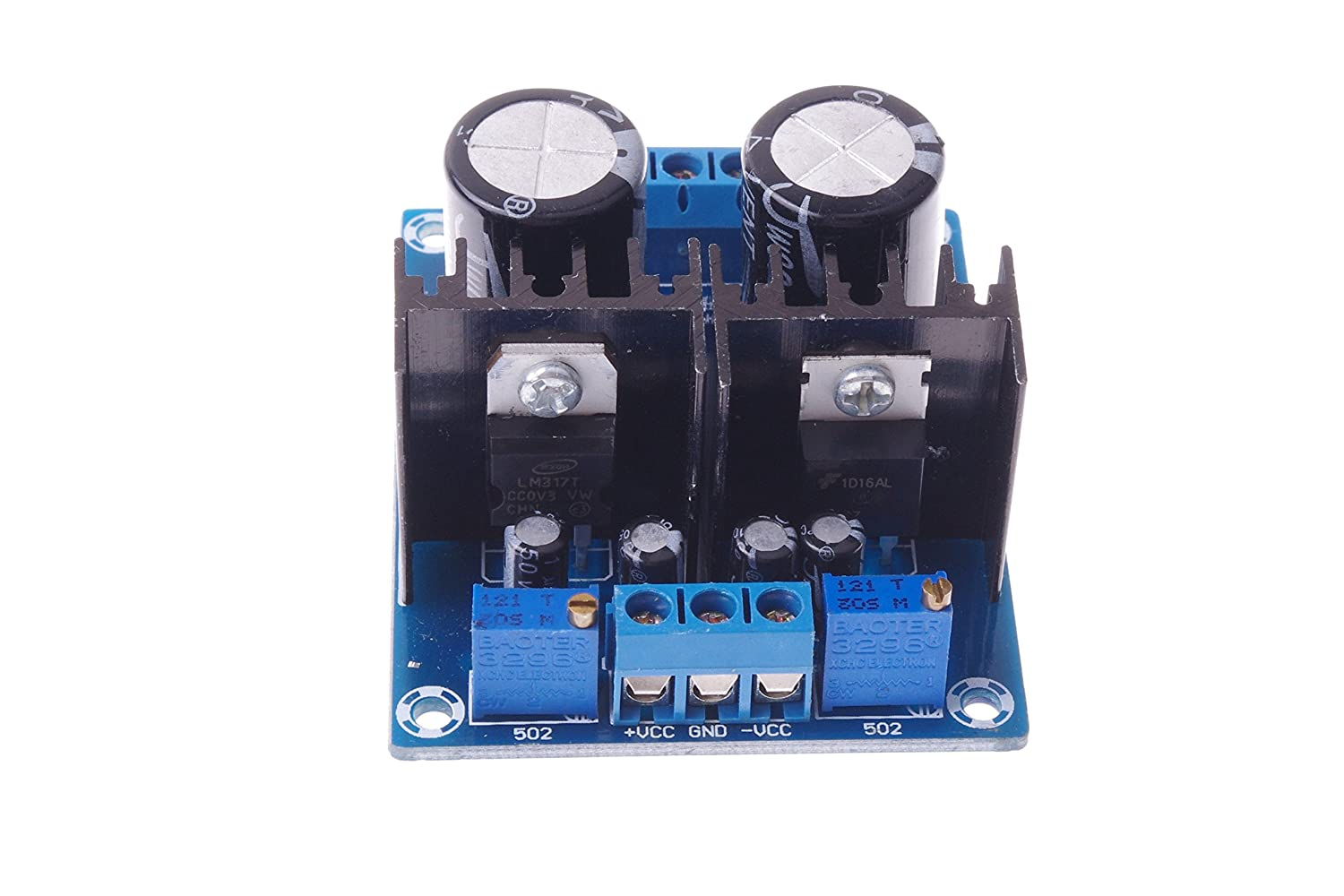 Smakn Lm317 337 Dual Power Supply Adjustable Module 60v Variable Circuit Using Lm317lm337 125v To 37v 15a Converter Home Audio Theater