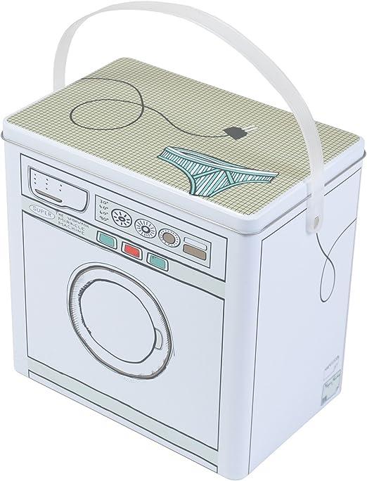 Buri Caja de Detergente Metal Waschpulverbox Envase Depósito de ...