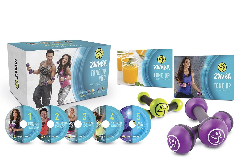 Zumba Tono Up Pro DVD Sistema: Amazon.es: Deportes y aire libre