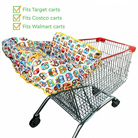 Shopping Cart Covers Precise Infant Child Supermarket Shopping Cart Seat Cushion Chair Cushion Protection Safe Travel Portable Cushion
