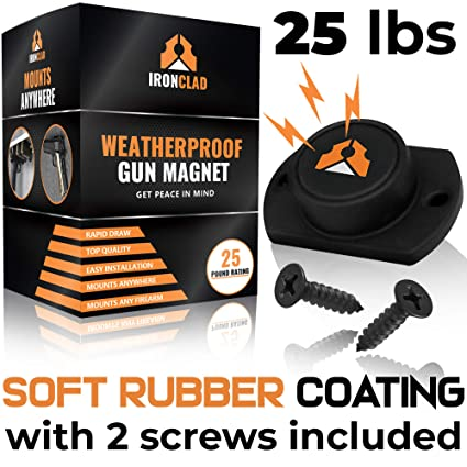 84872f59f Amazon.com   Ironclad Rubber Coated Gun Magnet