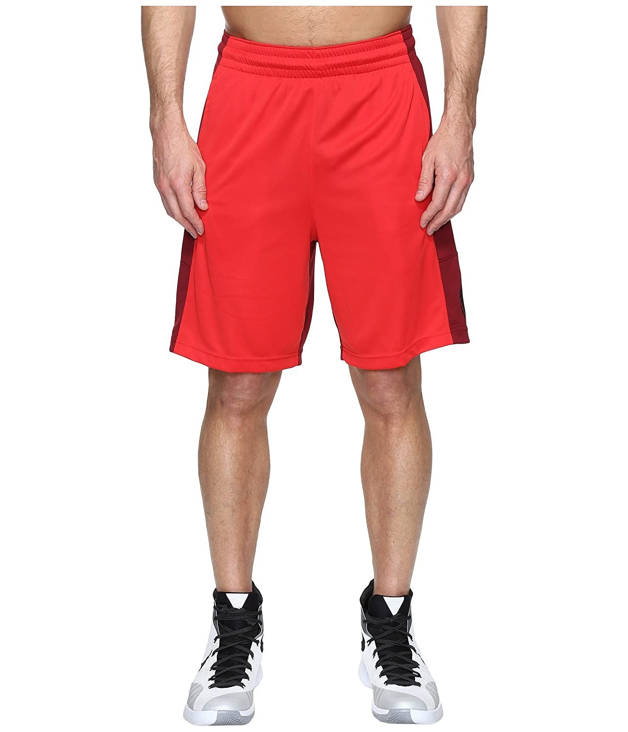 [ナイキ] Nike メンズ Basketball Short パンツ [並行輸入品] B01NBF96TL University Red/Team Red/Black/Black XX-Large