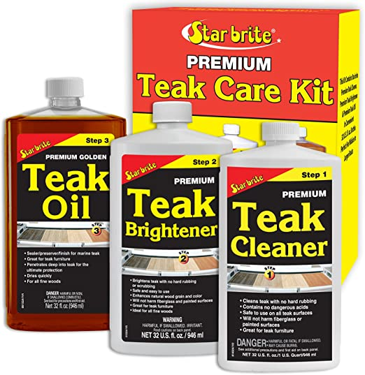 Star Brite Premium Teak Care Kit – Best Teak Sealer