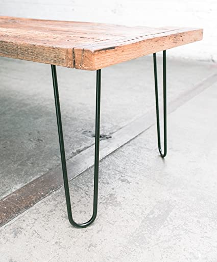 Outstanding Heavy Duty Hairpin Legs Satin Black Mid Century Modern Set Of 4 Table Legs Cjindustries Chair Design For Home Cjindustriesco