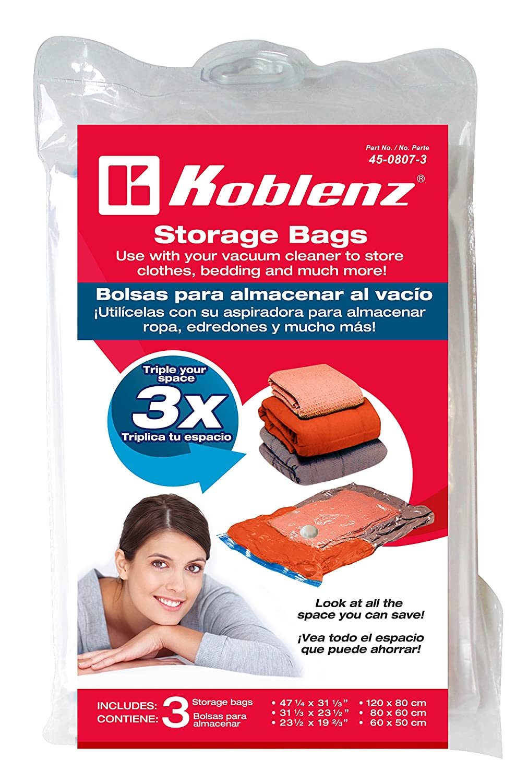 Koblenz 45-0807-3 Space Saving Storage Bags