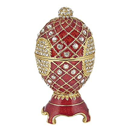 Buy art with emphasis ceramic magnetic oval easter egg shaped gift art with emphasis ceramic magnetic oval easter egg shaped gift box negle Images