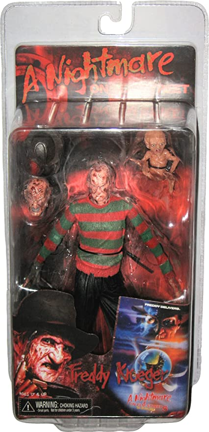 "Nightmare on Elm Street Ultimate Freddy Krueger 7/"" Action Figure NECA Collection"