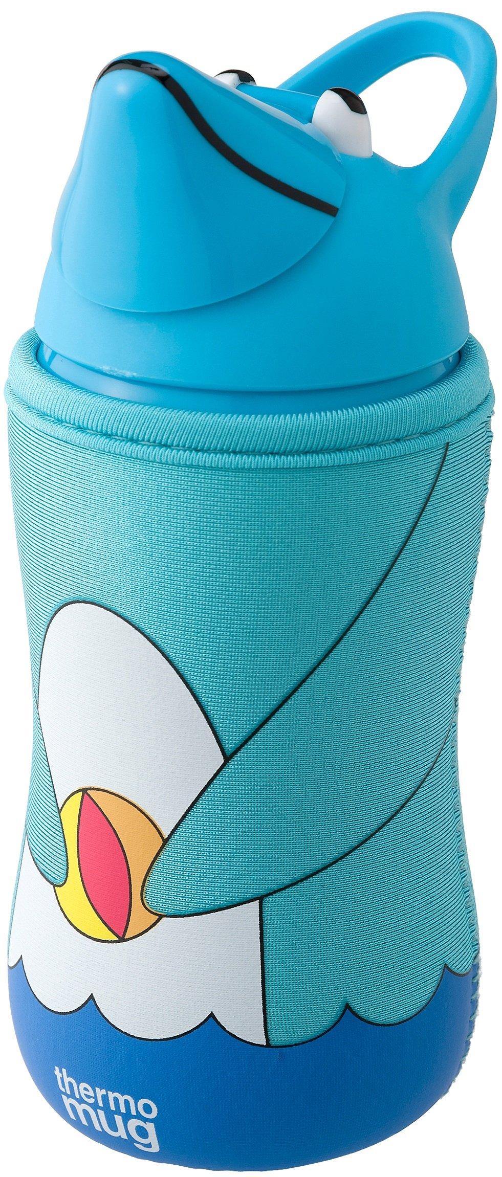 Thermo Mug Animal bottle (Dolphin) Marin 5155AM (japan import) by THERMO MUG by Thermomug
