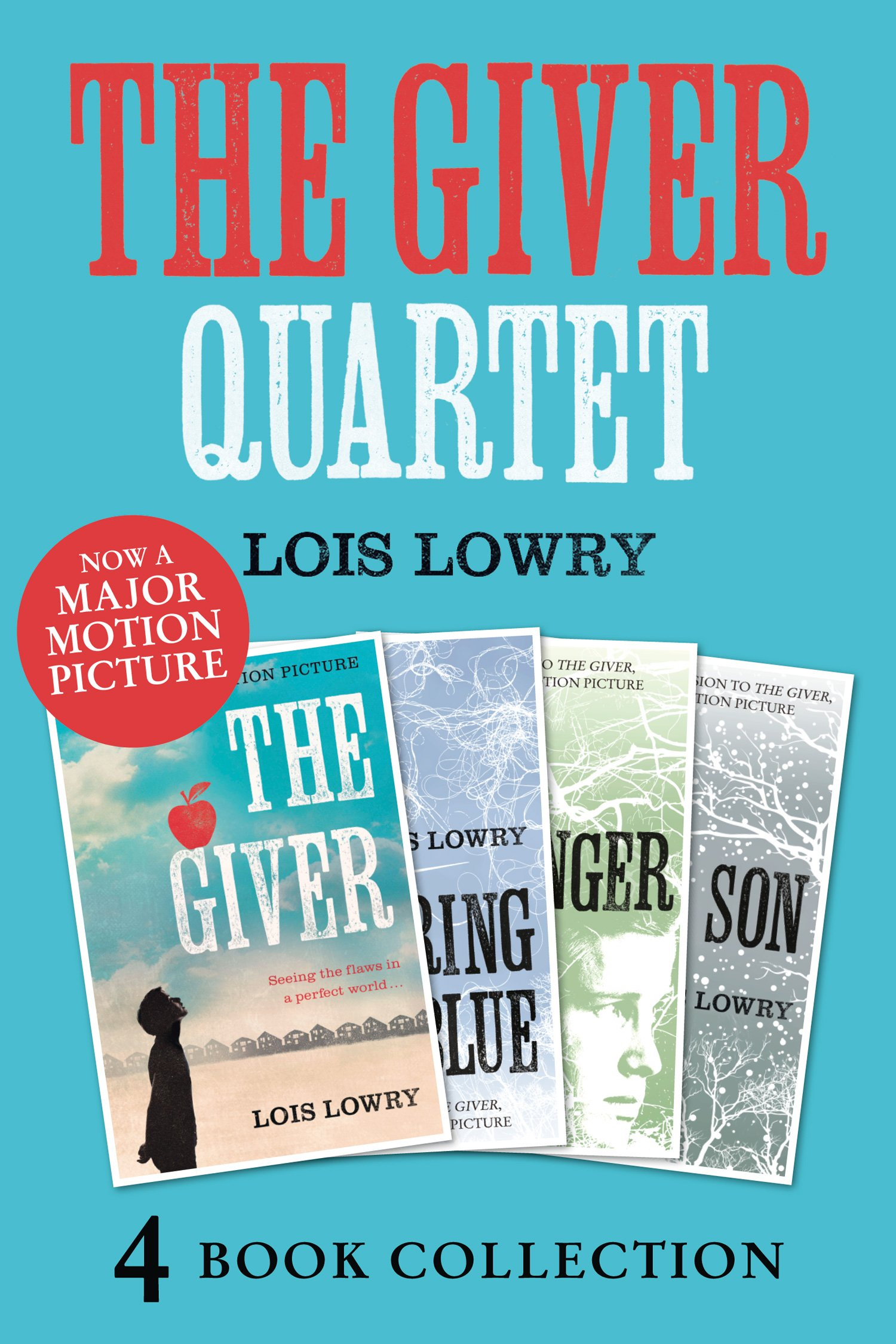 The Giver Gathering Blue Messenger Son (The Giver Quartet) (English Edition)