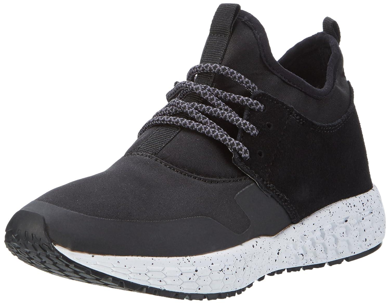 Bianco High Cut Sneaker Jfm17 - Zapatilla Alta Mujer 37 EU|Negro
