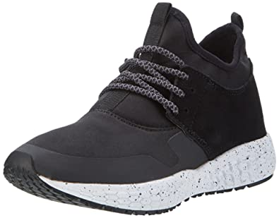 Damen High Cut Sneaker 32-49200 Top, Schwarz (Black), 36 EU Bianco