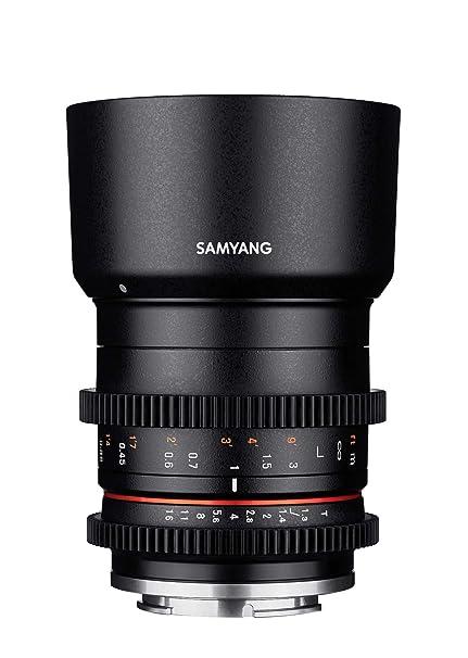 SAMYANG 14035T1.3F 35mm T1.3 Cine AS UMC CS Objektiv für Anschluss Fuji X schwarz