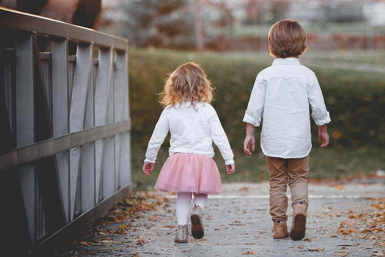 7-8 ans SG-WEAR Lot de 6 collants pour fille confortables en coton avec 6 motifs et collants pour enfants pour 1-2 5-6 3-4