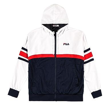 Fila Jacke Hansen, Größe:2XL, Farbe:peacoat/red/white ...