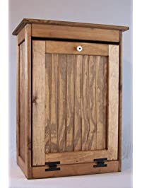 High Quality Wooden Tilt Out Trash Bin Solid Top