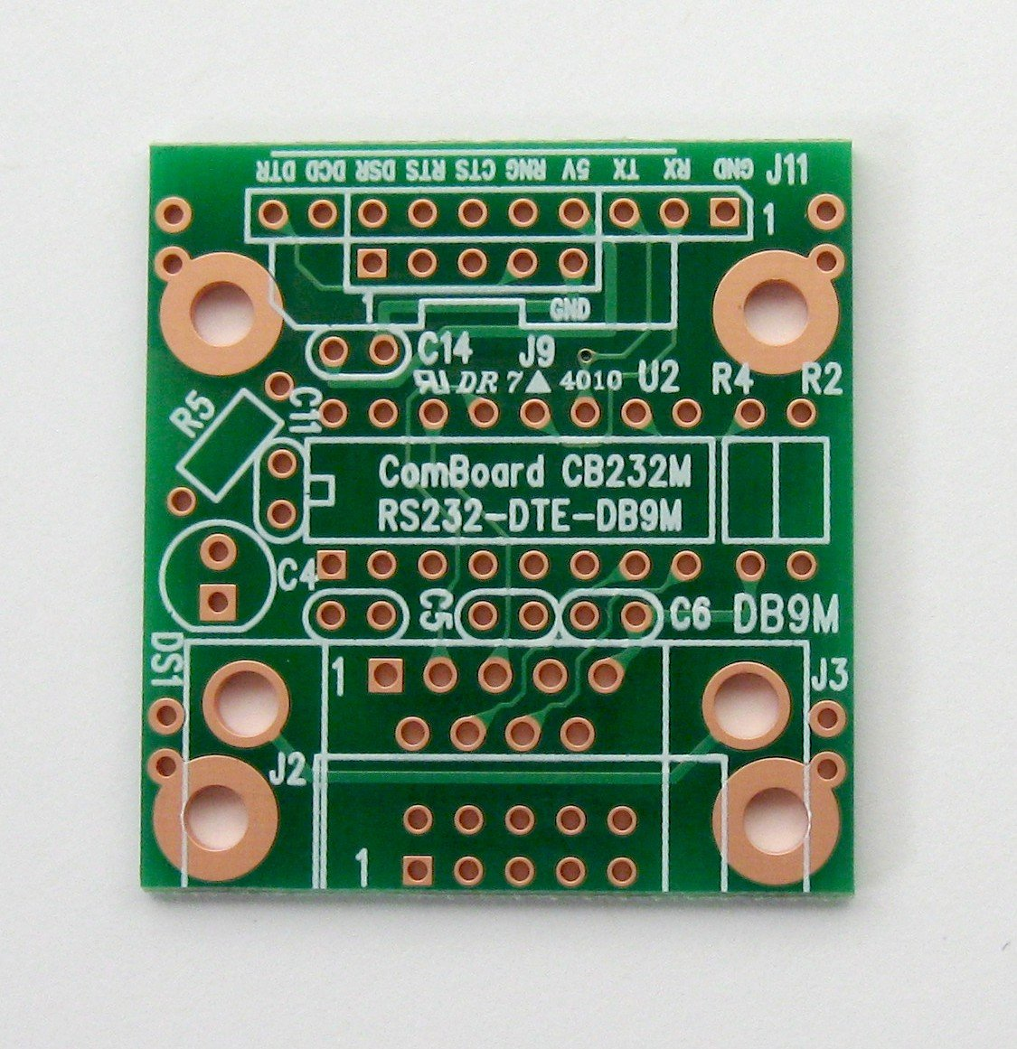 Pcb Cb232m Comboard Adapter Rs 232 Db 9m Dte Solderless Breadboard With 400 Tie Points And Matching Unpopulated 2 Sided 140 X 150 In 356 381 Mm Home Improvement