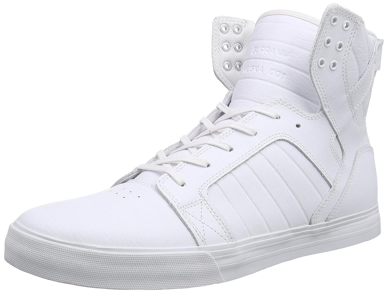 Supra Skytop Skate Shoe B011JITTJO 9 M US|White-white