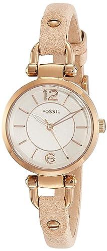 Reloj Fossil Georgia Es3745 Mujer Blanco