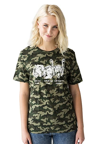 Junglist Lions Camo T Shirt Neurofunk Jungle Massive Drum and Bass /& Camouflage