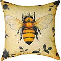 Bumblebee Personalized Cushion Cover NEW Home Office Decorative 18 X 18 Inches OPAndrew by OPAndrew